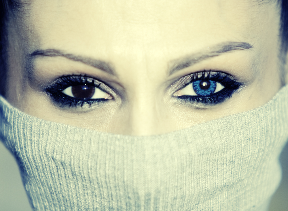 The eyes are the window to the soul&#8230;