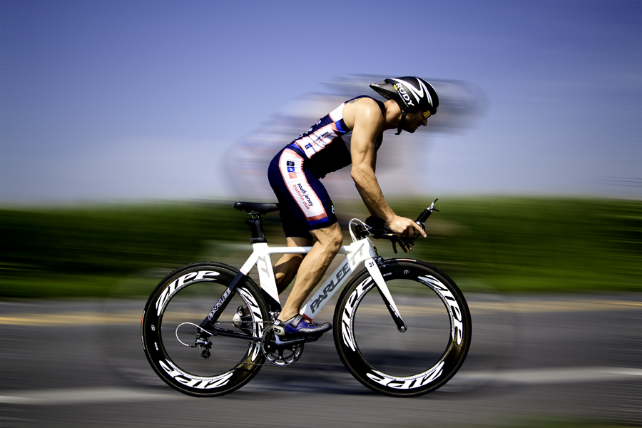 Mark Brace, triathlete