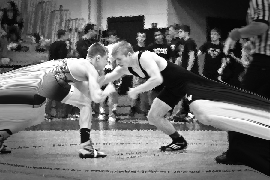 wrestling battle!