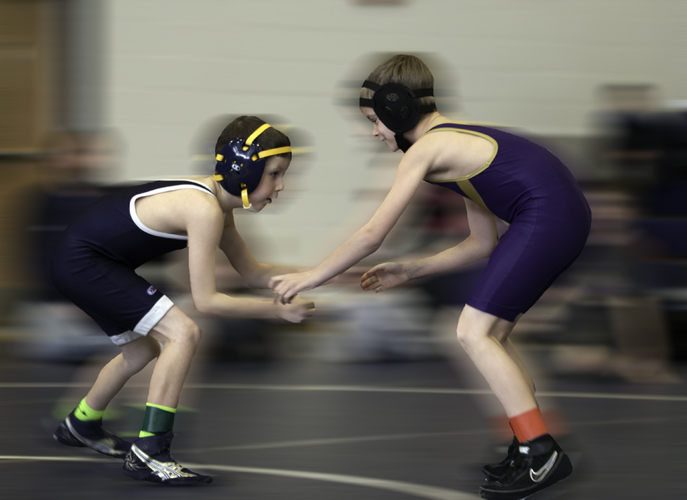 Cedar Cliff youth wrestling duals 01/19/2013 part I