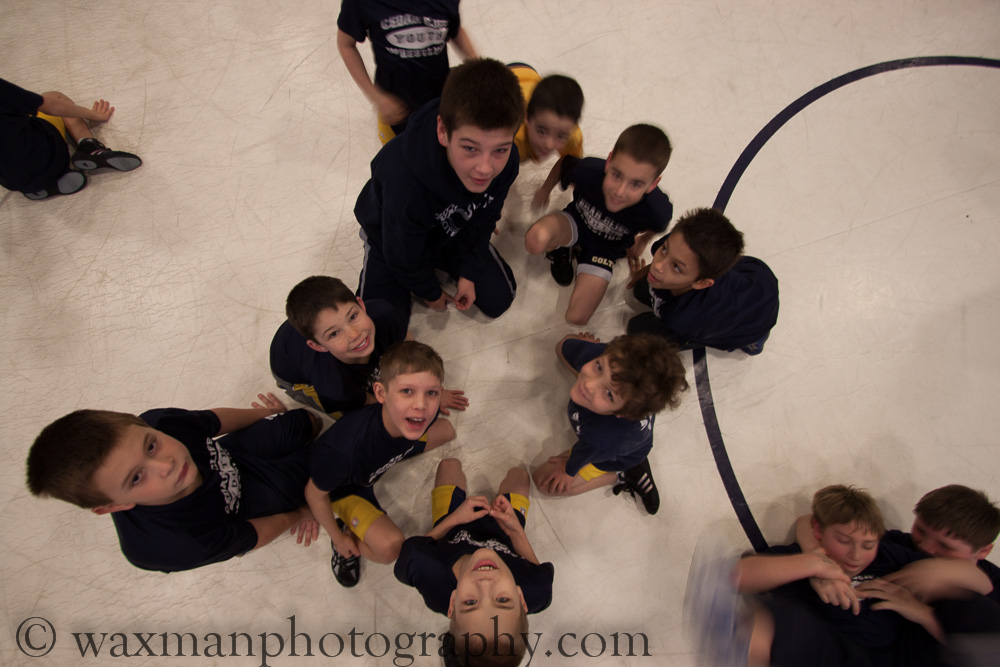 Cedar Cliff Youth Wrestling Tourney 01/26/2013 part I