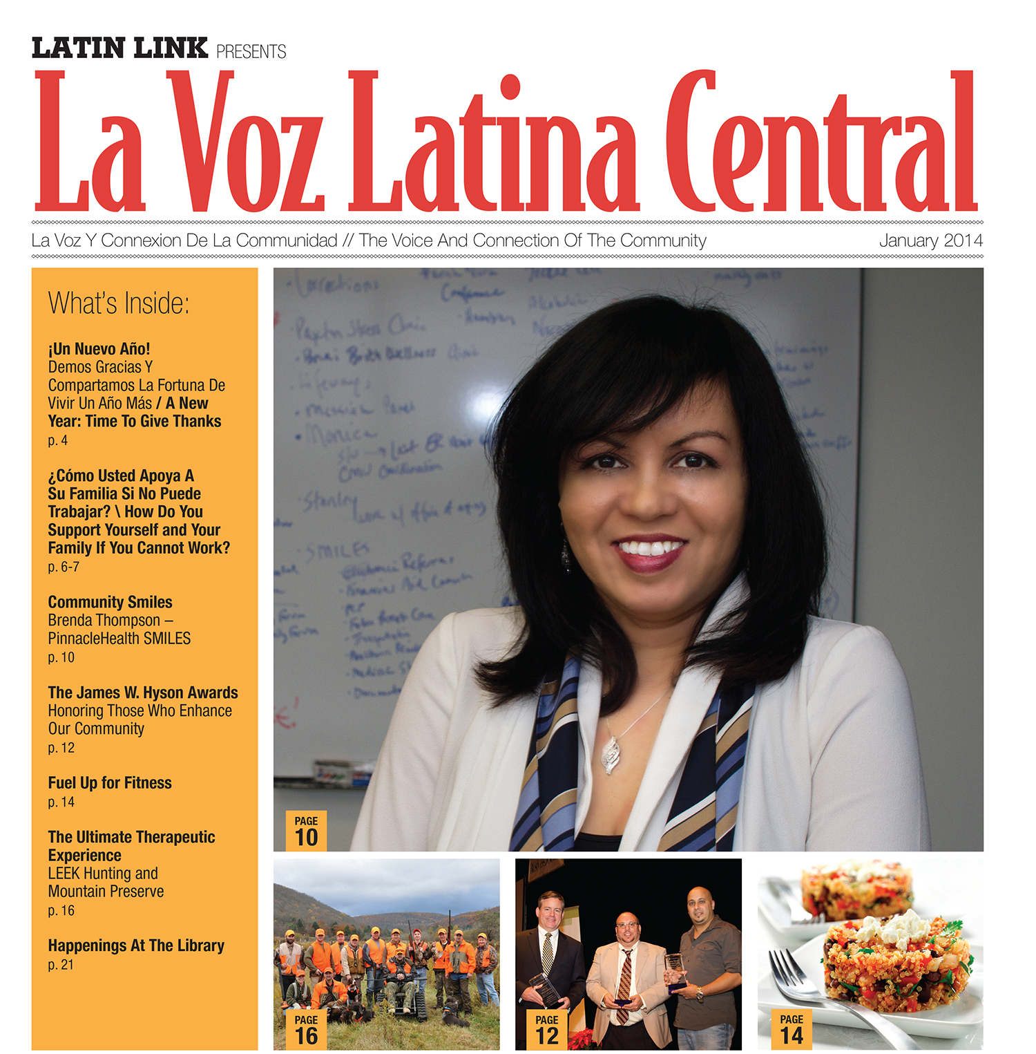 La Voz Latina Central Magazine Volume I