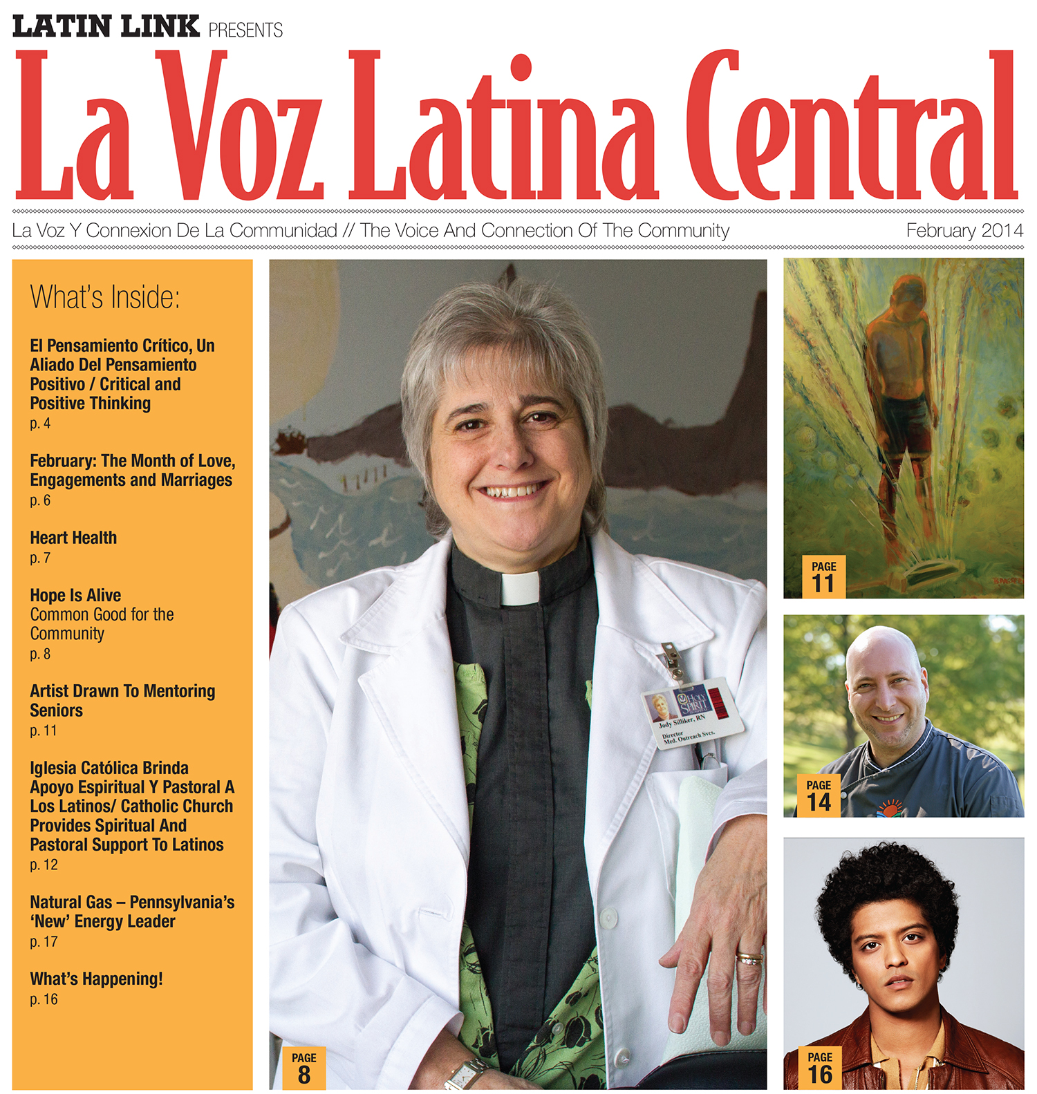 La Voz Latina Central Magazine Volume II