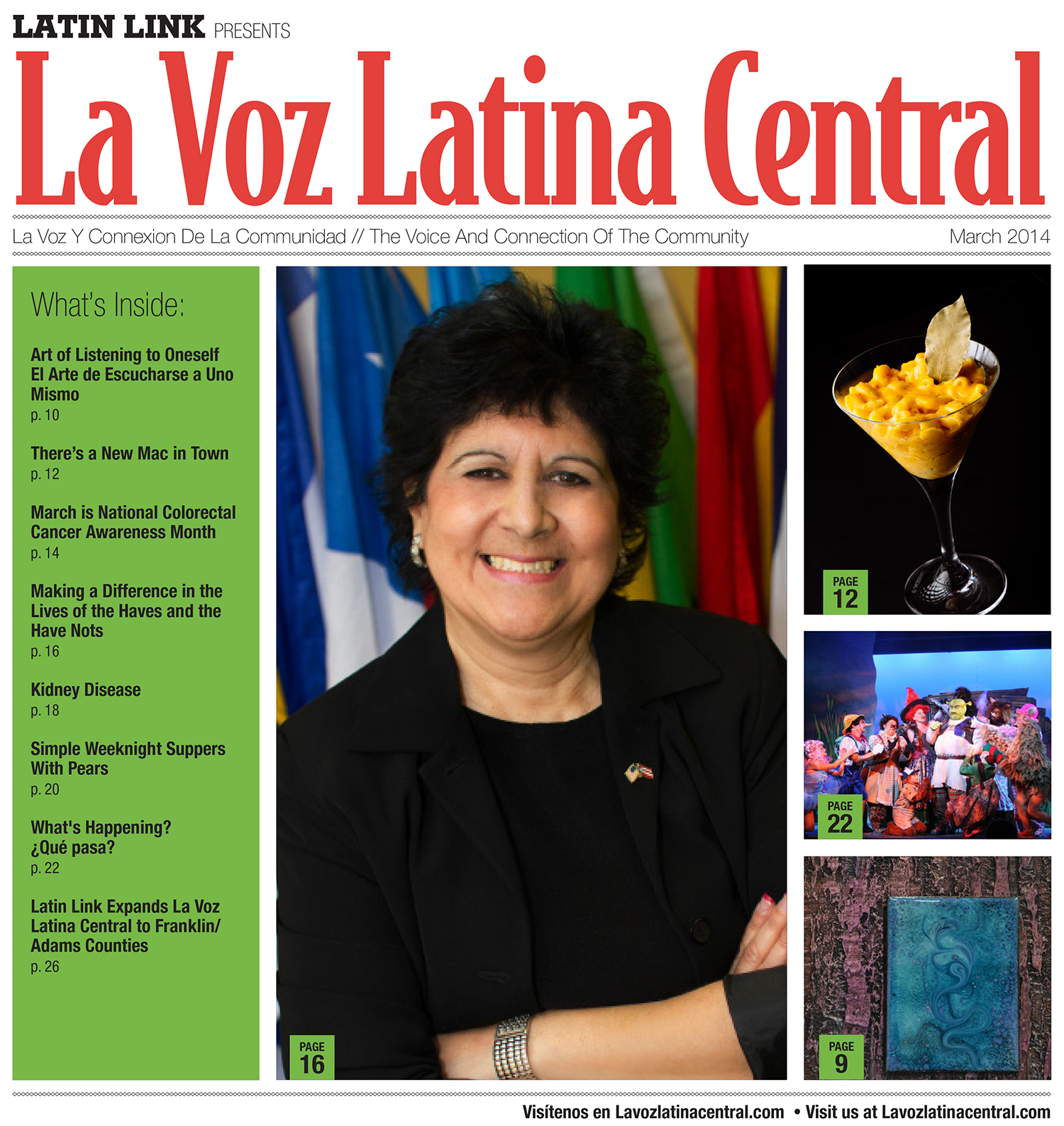 La Voz Latina Central Magazine Volume III