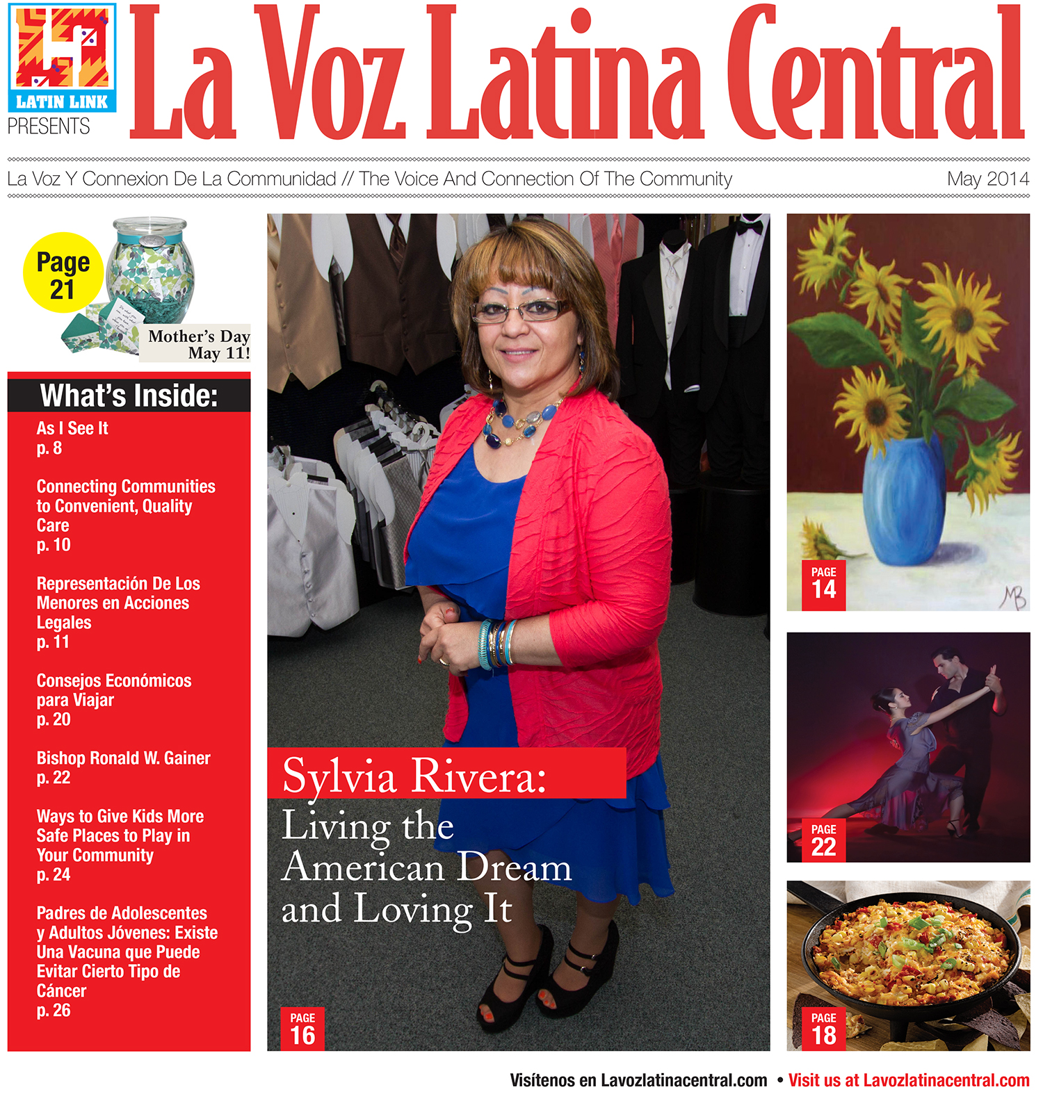La Voz Latina Central Magazine Volume V