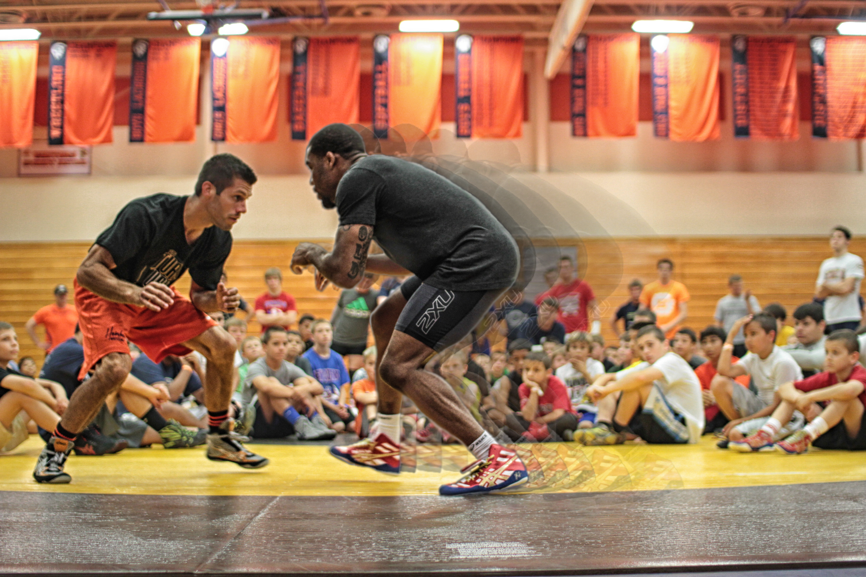 Trojan Wrestling Academy Day 3 with Jordan Burroughs