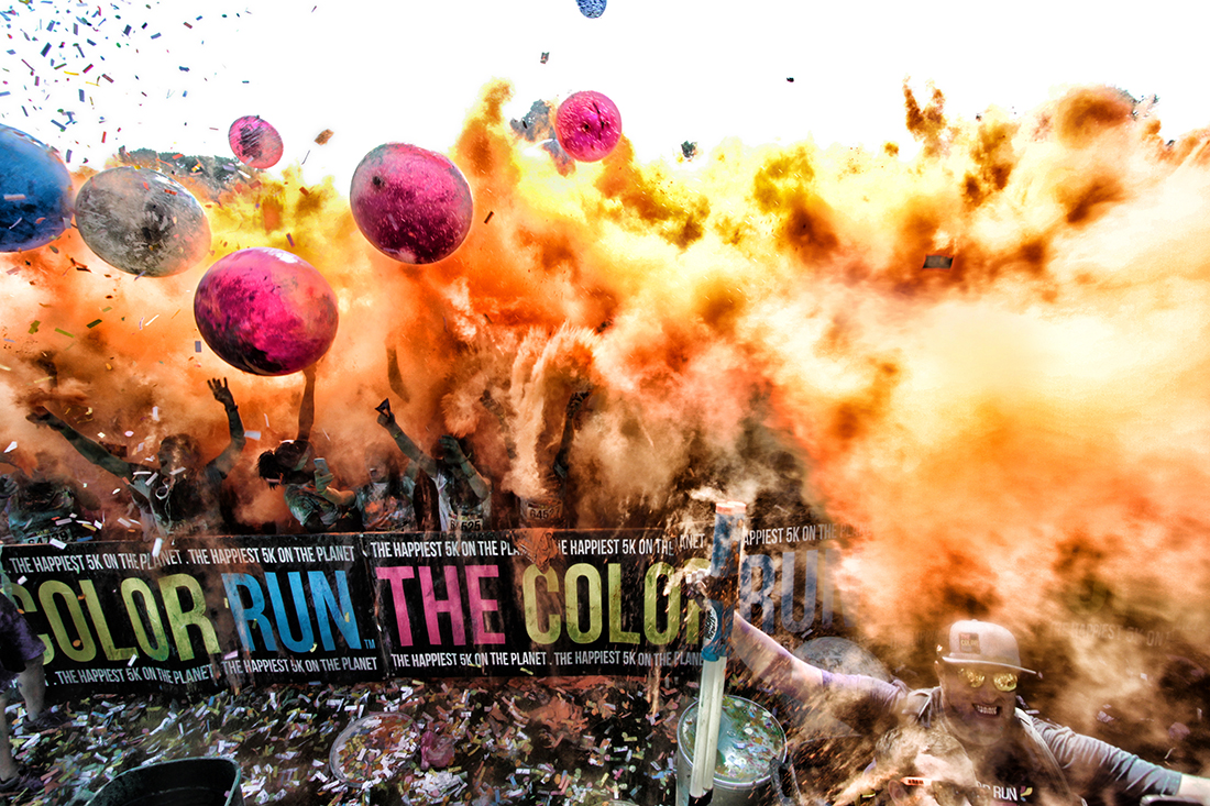 Color Run in Hershey 2014