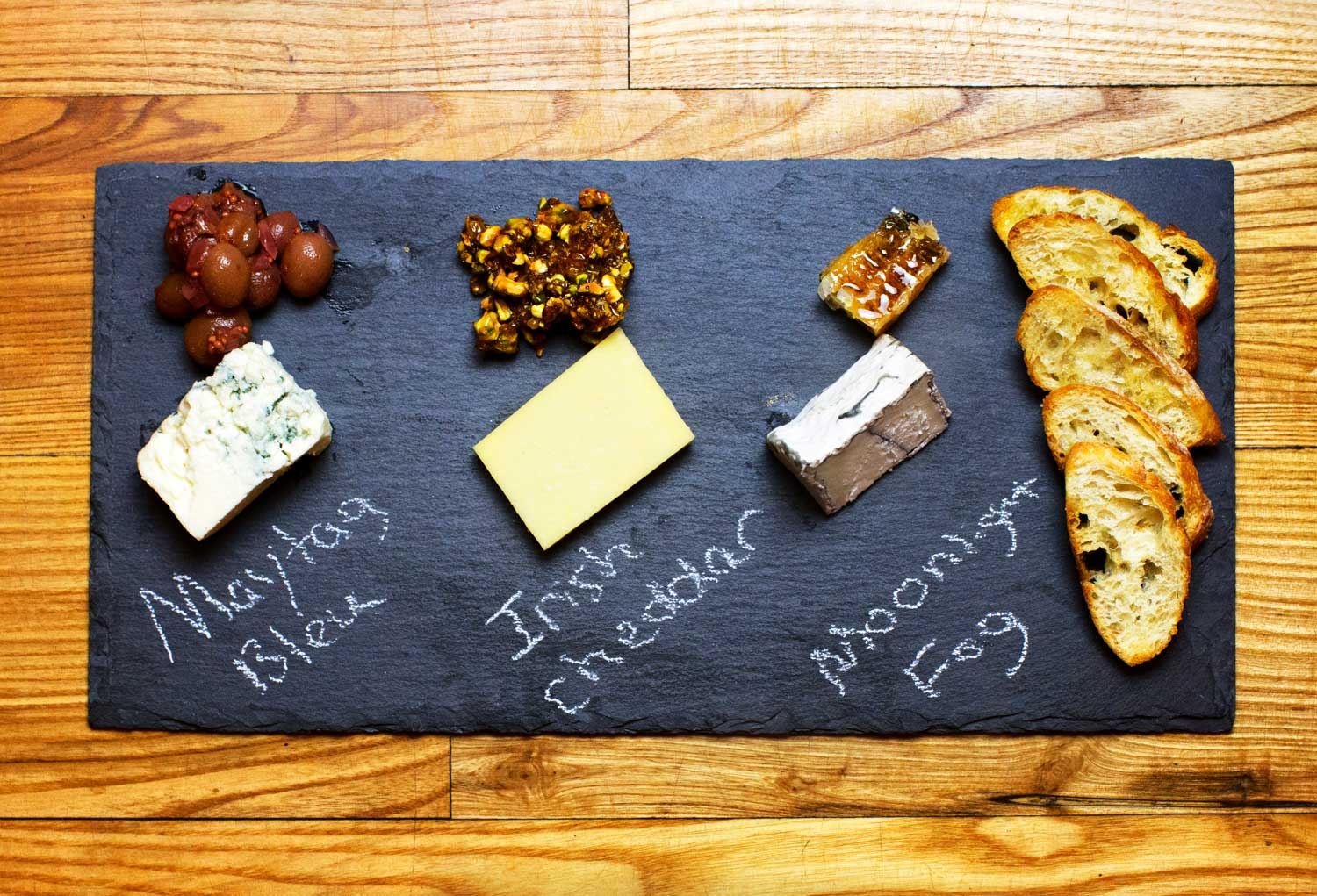 Cheese Board prepared by Mount Hill Tavern