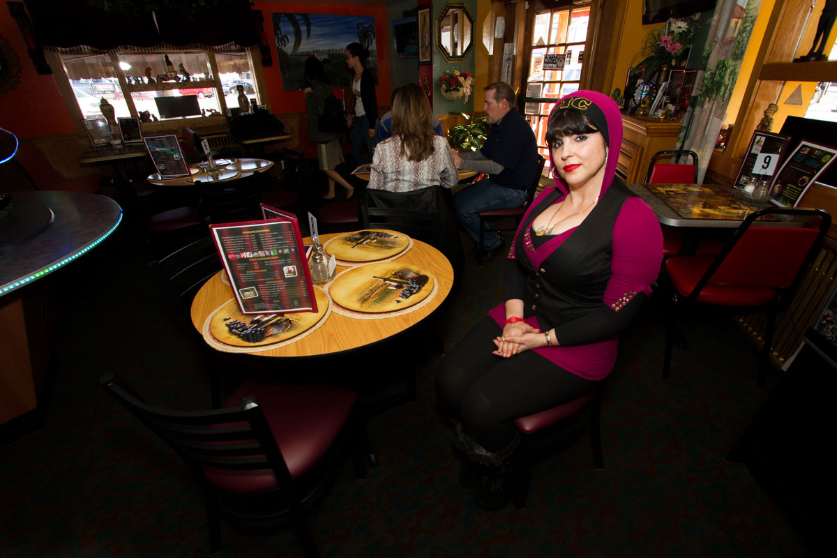 Keila , owner and executive chef of El Triangulo Latino Restaurant