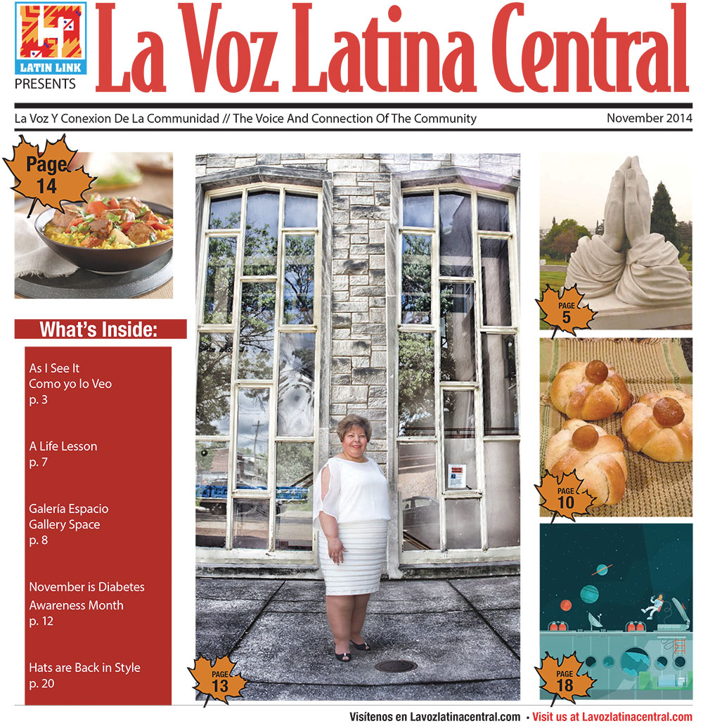 La Voz Latina Central Magazine Nov issue