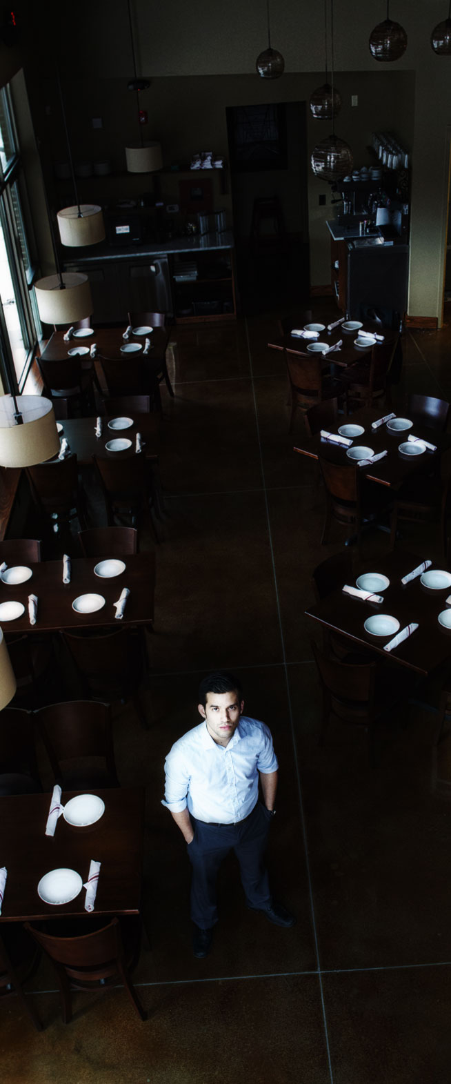 Josue Osorto, GM of Cork and Fork Restaurant