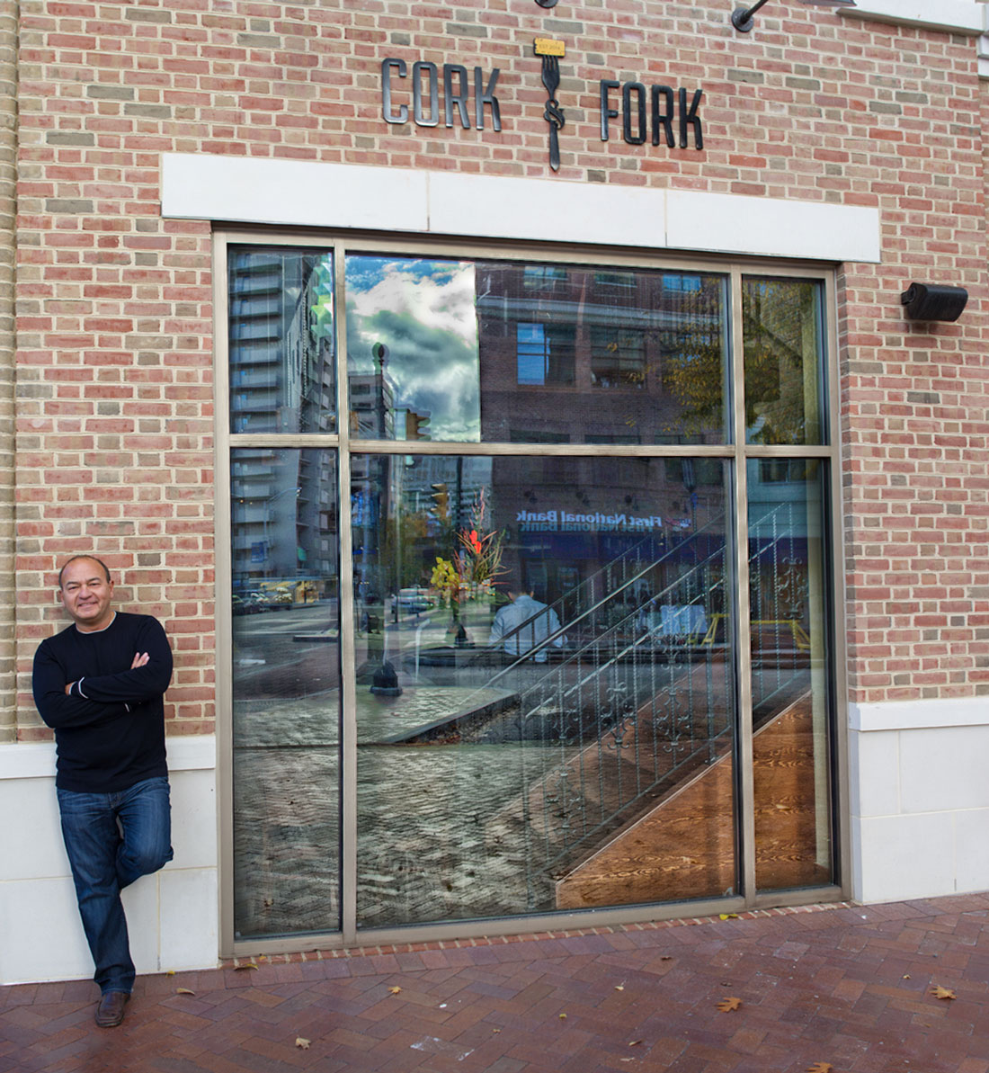 Nick Laus, Owner of the Cork and Fork Restaurant