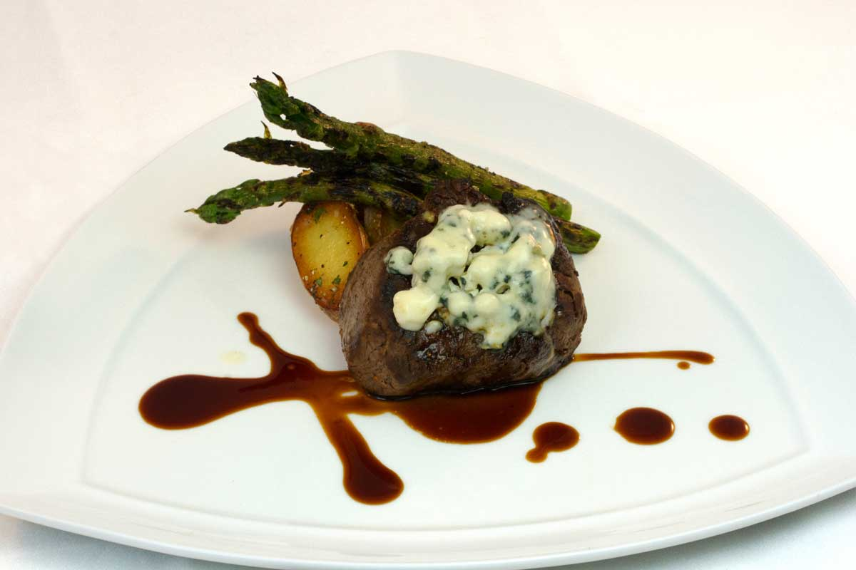 Shropshire Blue Cheese Crusted