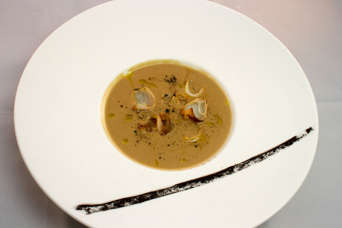 Smoked Onion Bisque
