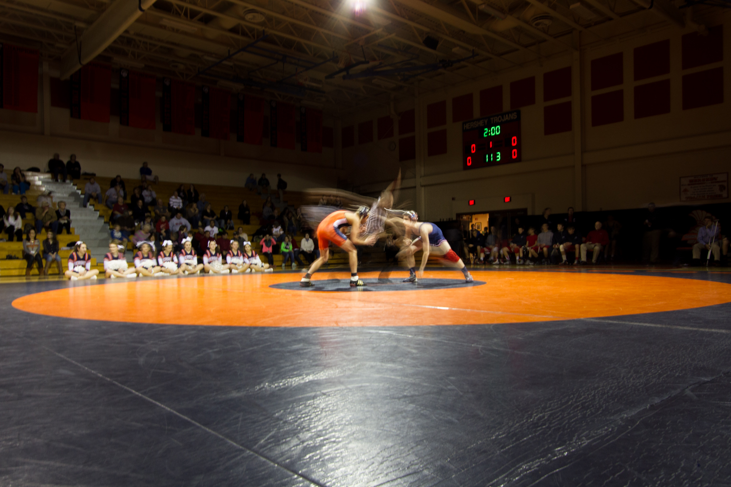 Hershey vs Red Land Varsity Wrestling 2015