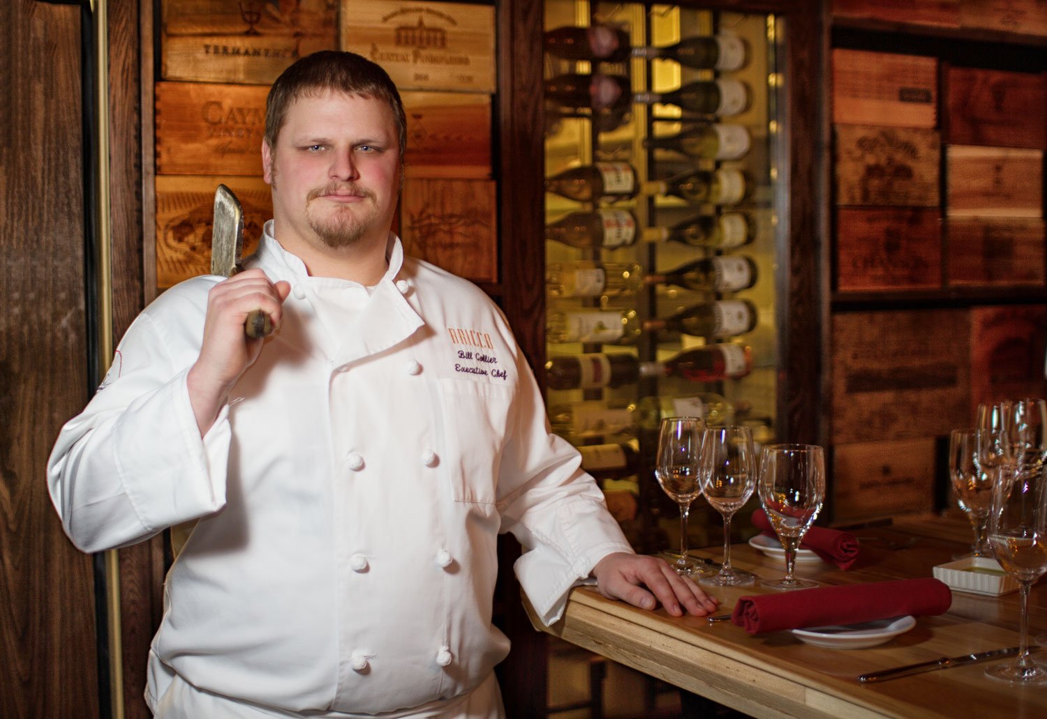 Bill Collier Executive Chef for Bricco/Table at Bricco