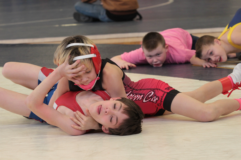 Cedar Cliff, New Oxford, Susquenita and Northern Wrestling Tourney 01/31/2015