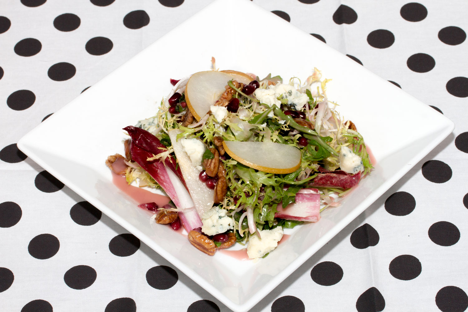 Asian Pear & Pomegranate Salad