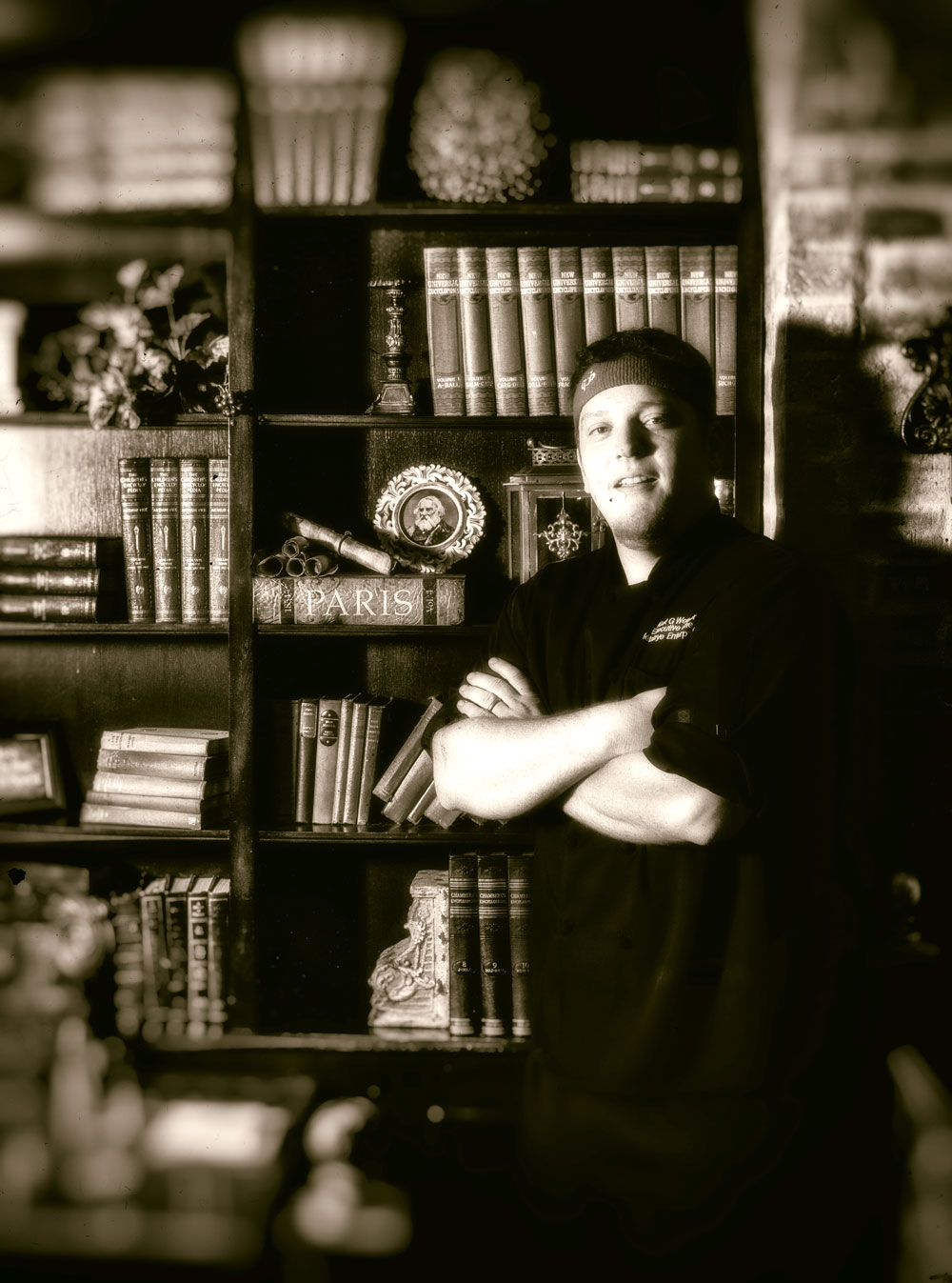 The Garlic Poet's Executive chef, Kurt Wewer