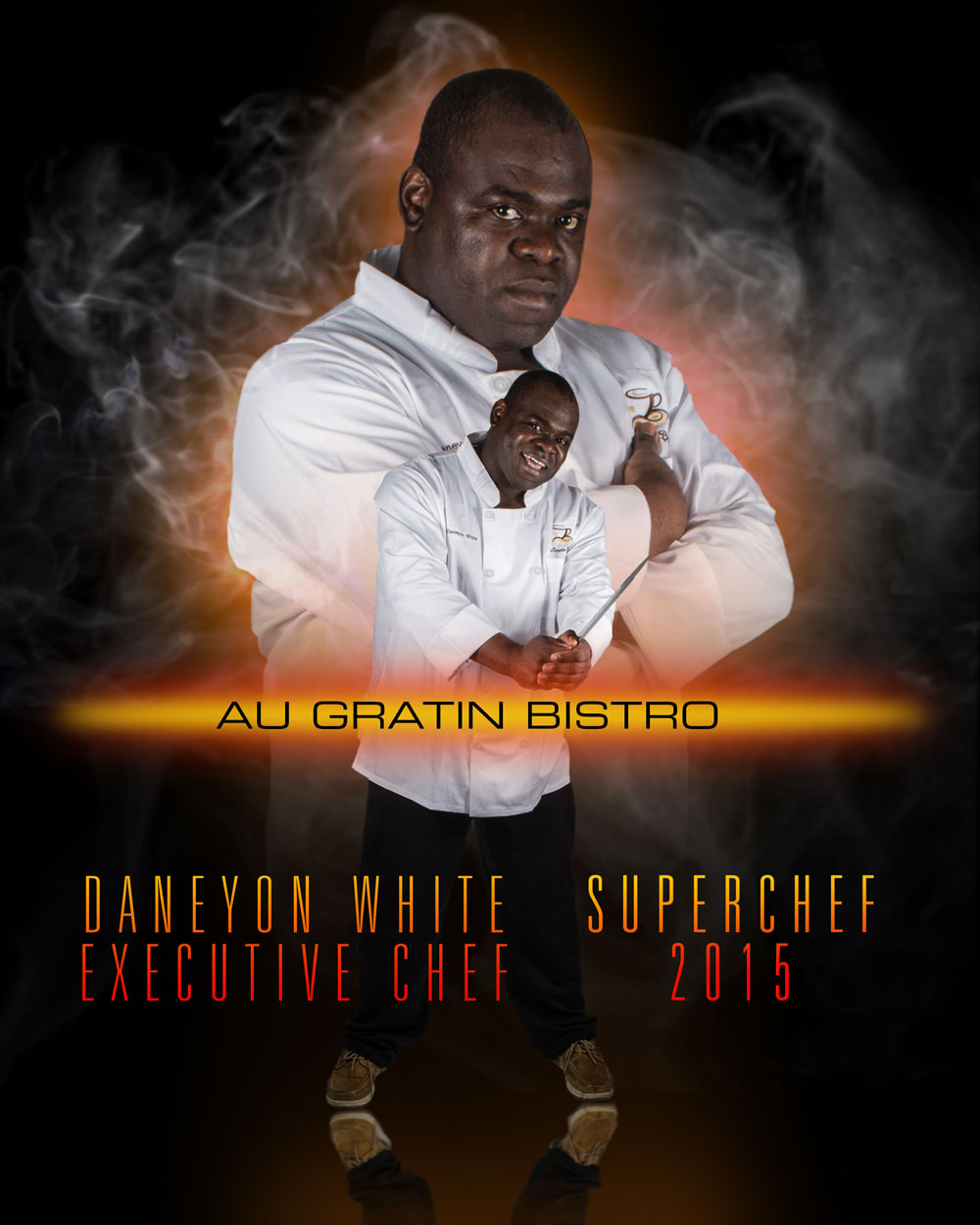 Daneyon White, Executive Chef, Au Gratin Bistro