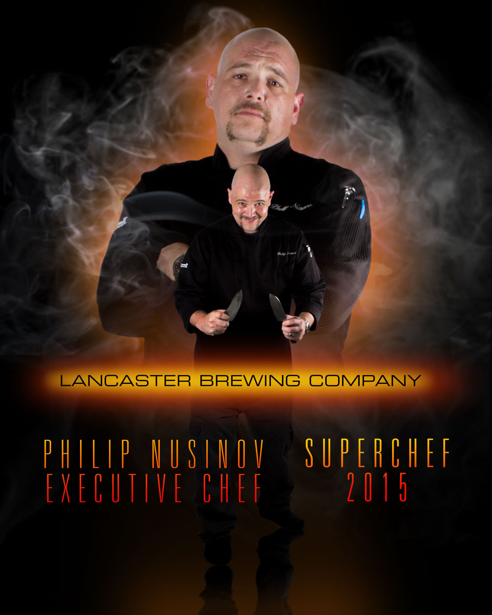 Philip Nusinov, Executive Chef, Lancaster Brewing Company