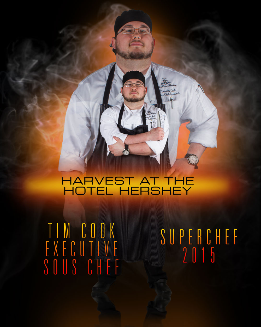 Tim Cook, Executive Sous Chef, Harvest at the Hotel Hershey