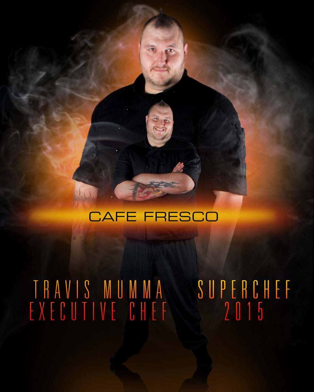 Travis Mumma, Executive Chef, Cafe Fresco