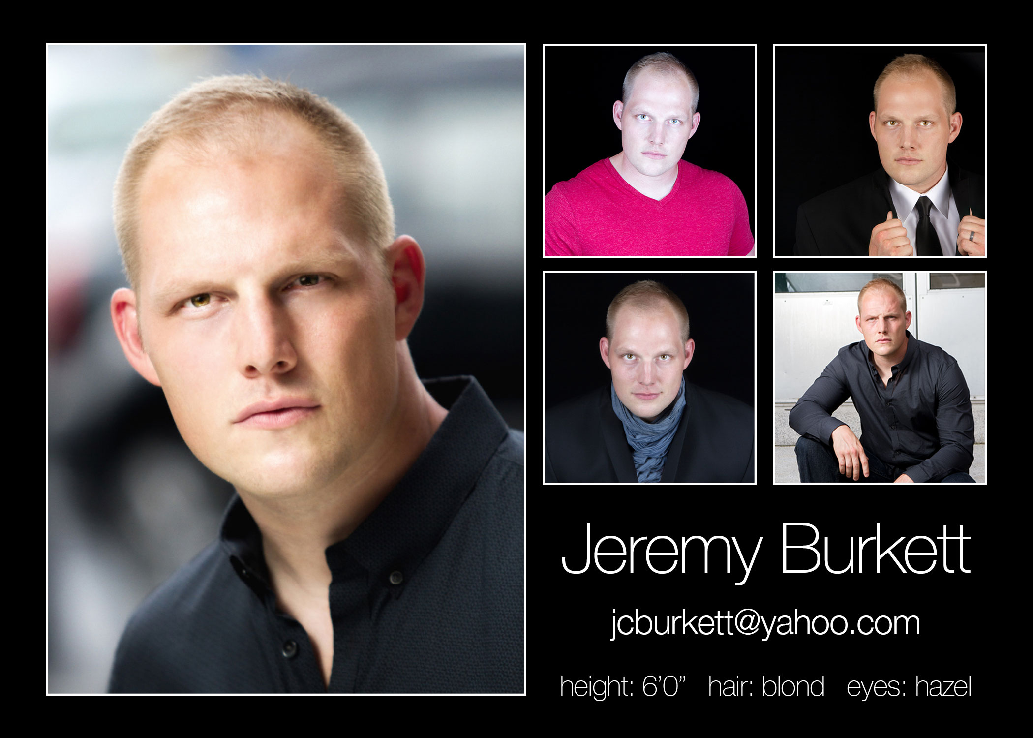 Jeremy Burkett Comp Card