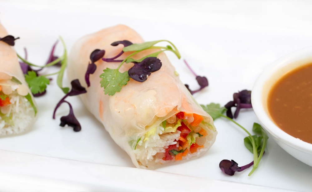 Café Fresco Center City Shrimp Summer Roll