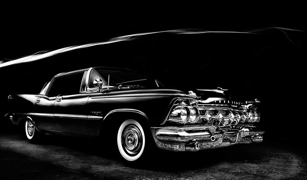 1962 Chrysler Imperial Black