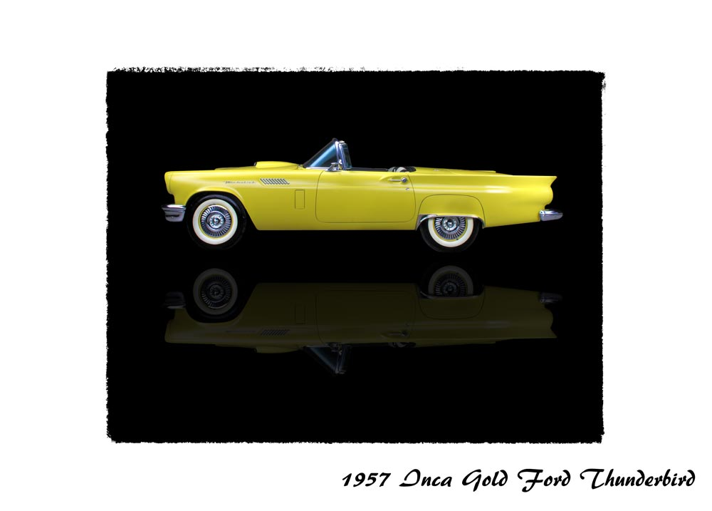 1957 Inca Gold Ford Thunderbird